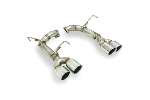 Remark Axle Back Exhaust w/ Stainless Double Wall Tips 3.5 Inch Subaru 2015-2020 WRX / 2015-2020 STI