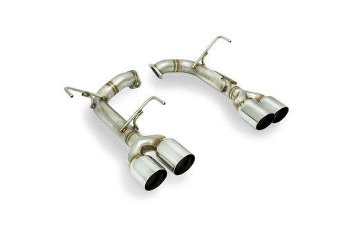 Remark Axle Back Exhaust w/ Stainless Single Wall Tips 3.5 Inch Subaru 2015-2020 WRX / 2015-2020 STI