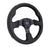NRG 320mm Sport Leather Steering Wheel w/ Black Stitching Universal