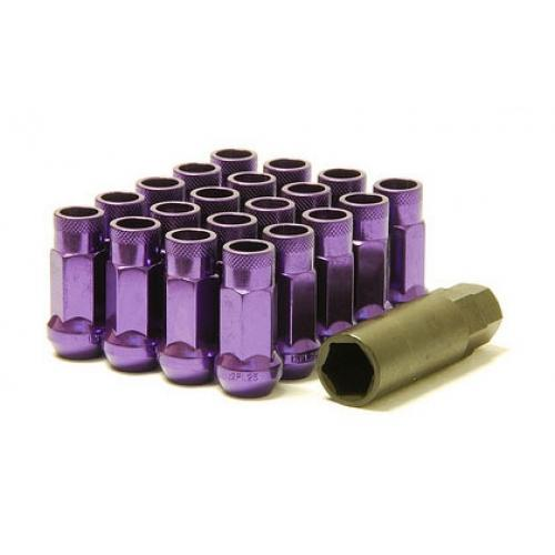Muteki SR48 Lug Nuts Open Ended Purple M12 x 1.25 Universal
