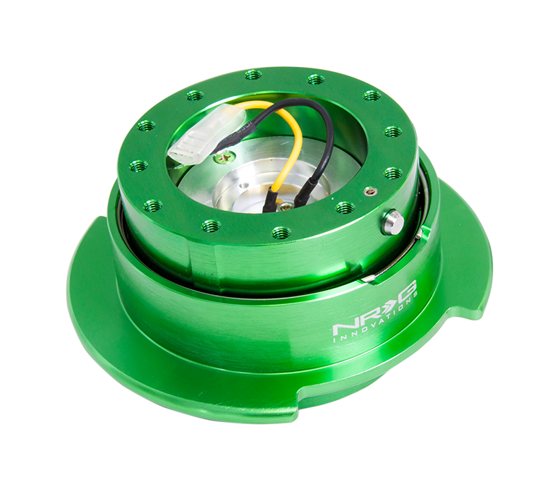 NRG Quick Release Gen 2.5 Green Body w/ Green Ring Universal