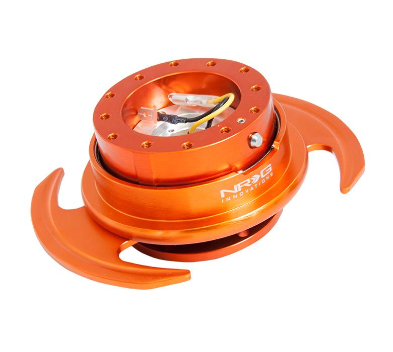 NRG Quick Release Gen 3.0 Orange Body w/ Orange Ring Universal