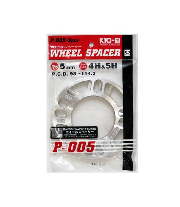 Project Kics 5mm Wheel Spacers (2 Pk) Universal