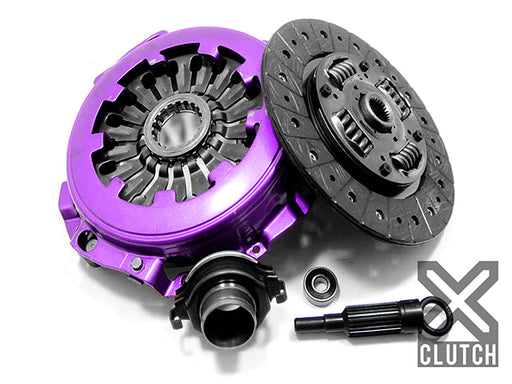 XClutch Stage 1X Sprung Organic w/ Heavy Duty Cover Clutch Kit Subaru 2002-2005 WRX