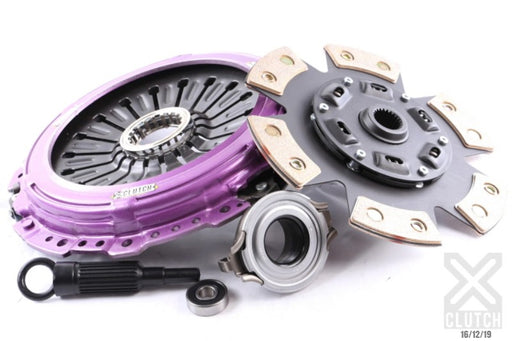 XClutch Stage 2 Sprung Ceramic Clutch Kit Subaru 2004-2020 STI