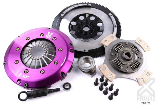 XClutch Stage 2R Ceramic Race Disc Clutch Kit w/ Flywheel Subaru 2015-2020 WRX