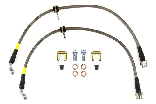 FactionFab Stainless Steel Front Brake Lines Subaru 2008-2020 WRX