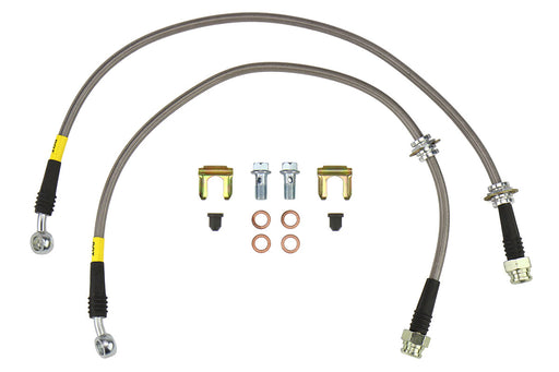 FactionFab Stainless Steel Rear Brake Lines Subaru 2002-2007 WRX