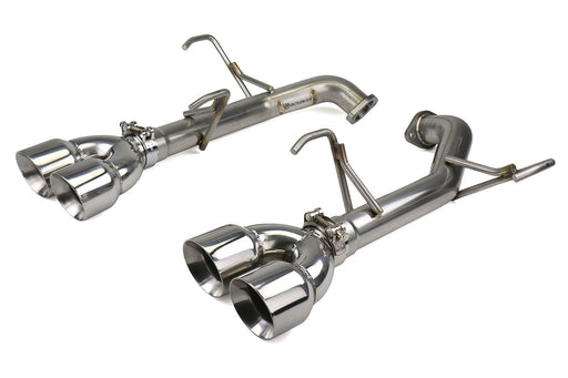 FactionFab Axle Back Exhaust w/ Polished Tips Subaru 2011-2014 WRX / 2011-2014 STI