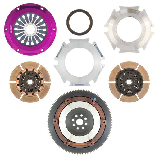 Exedy Stage 4 Twin Metallic Disc Clutch Kit Subaru 2002-2005 WRX