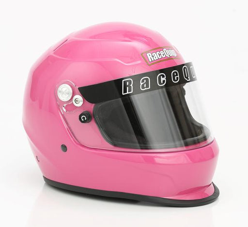 RaceQuip PRO15 Snell SA2015 Full Face Helmet Hot Pink Size Medium Universal