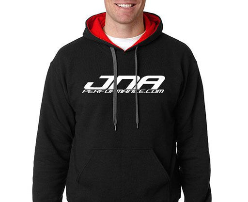 JNA Performance Hooded Sweatshirt Black w/ Red Hooded Sweatshirt Universal