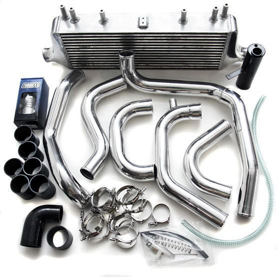 TurboXS FMIC Kit w/ Polished Piping Subaru 2006-2007 WRX / 2006-2007 STI