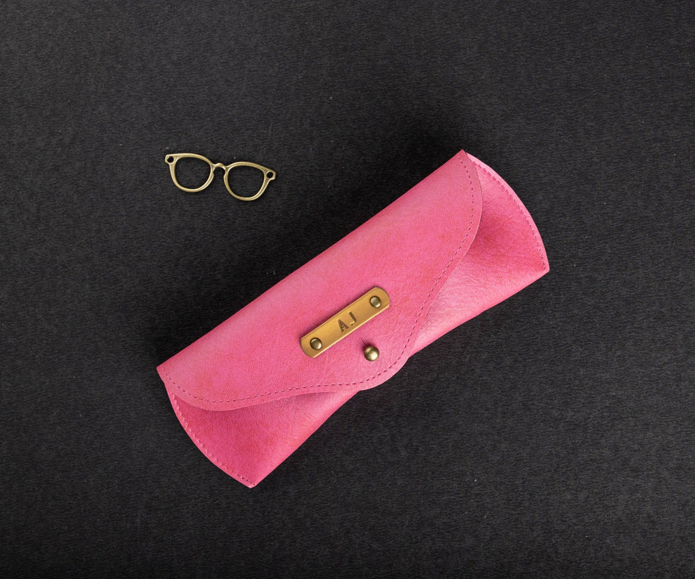 Pink Eyewear Case - The Junket