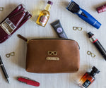Tan Travel Pouch - The Junket