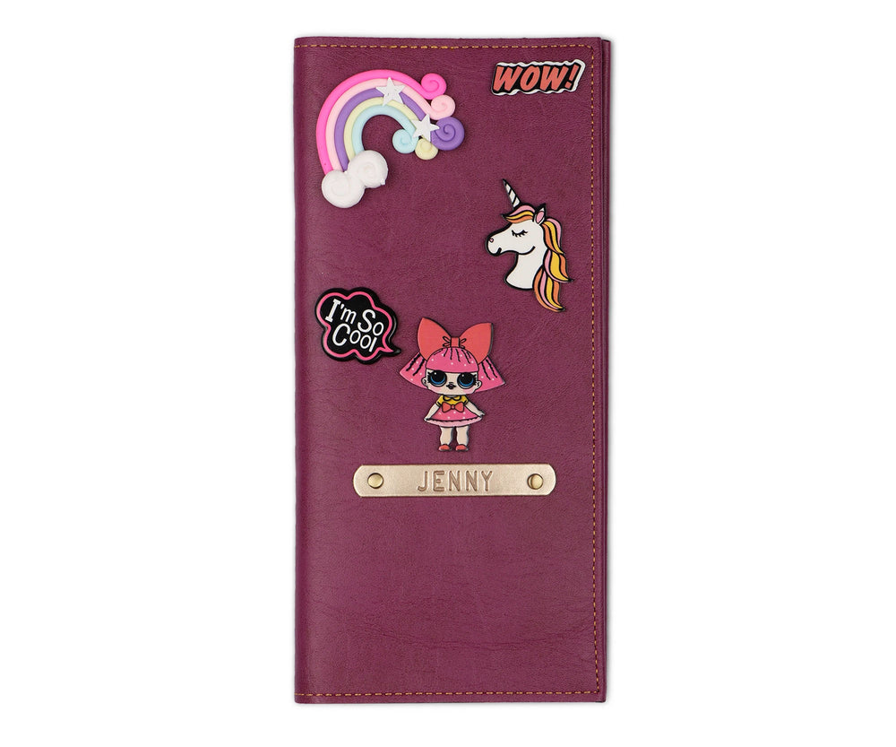 Quirky Travel Folder - Lil Girl - The Junket