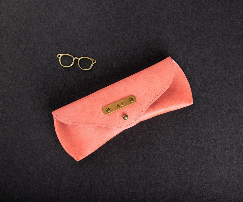 Peach Eyewear Case