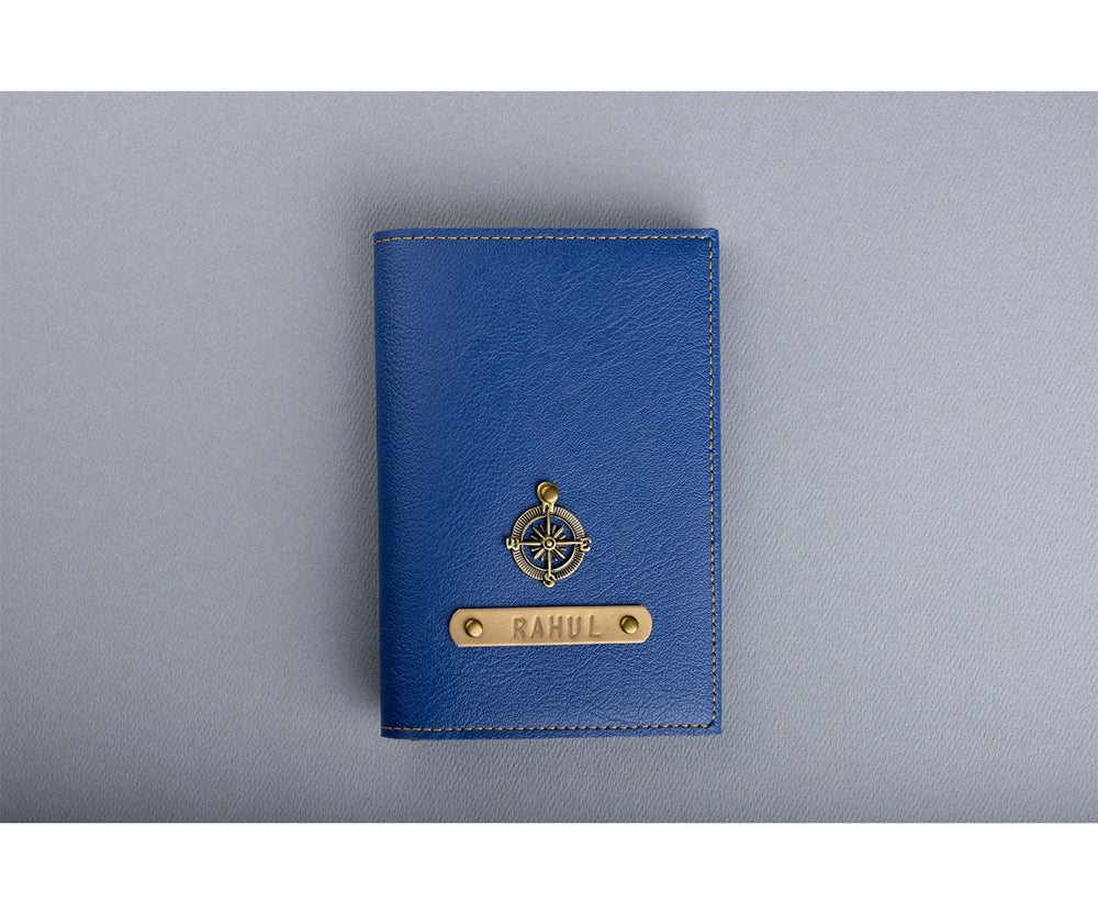 Navy Blue Frequent Flyer Passport Cover