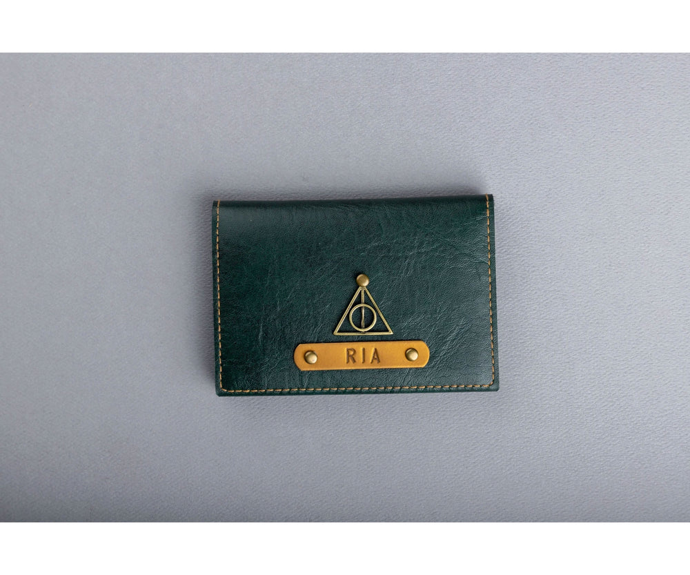 Forest Green Folding Card Holder - The Junket