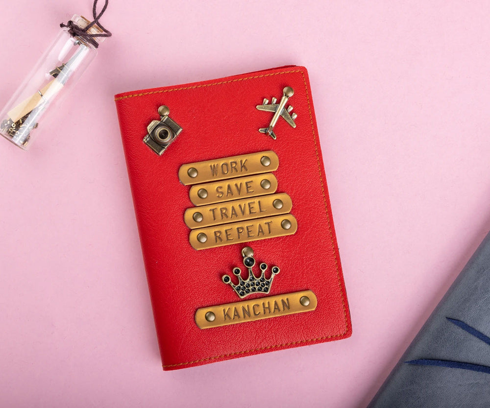 Work Save Travel Repeat (HER) - Passport Cover - The Junket