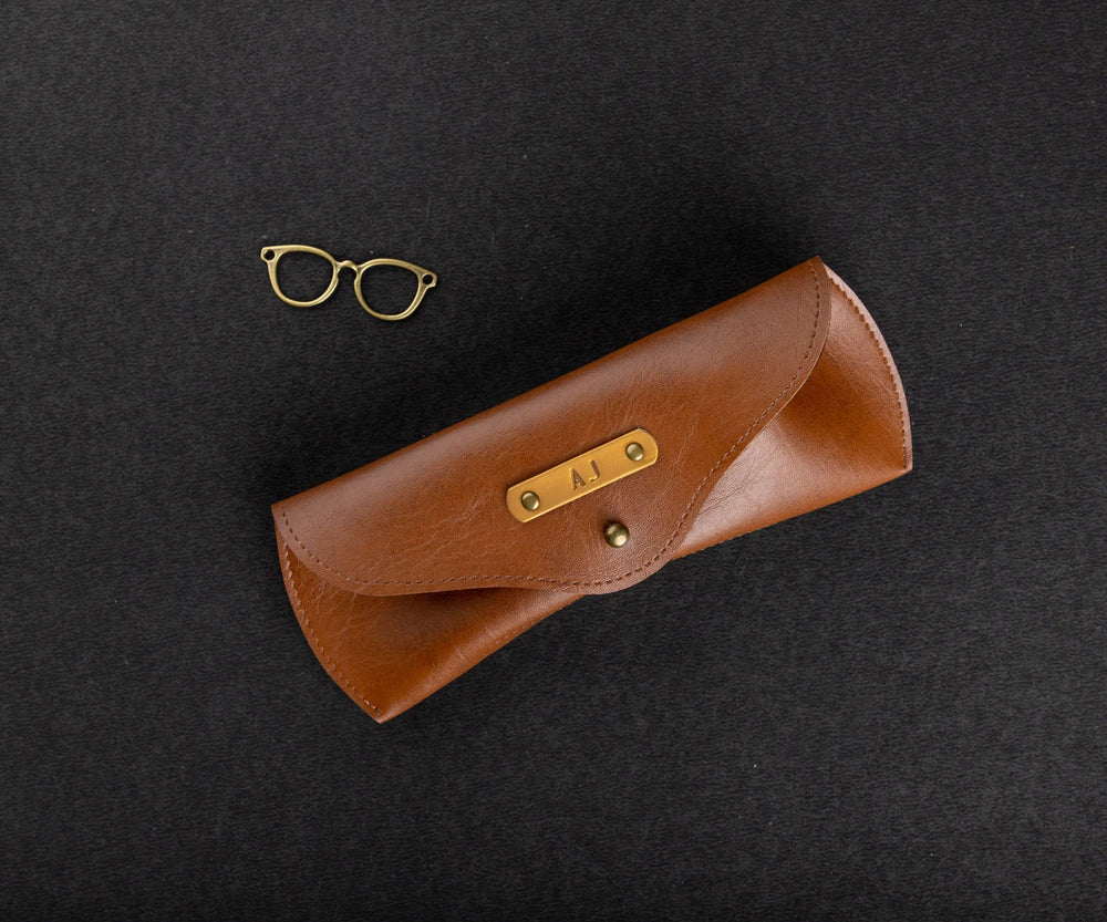 Tan Eyewear Case