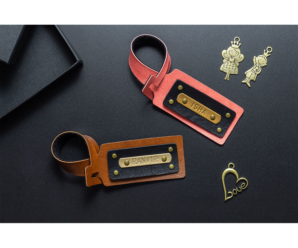 Couple Luggage Tags - The Junket