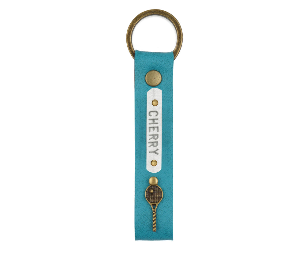 Turquoise Keychain - The Junket