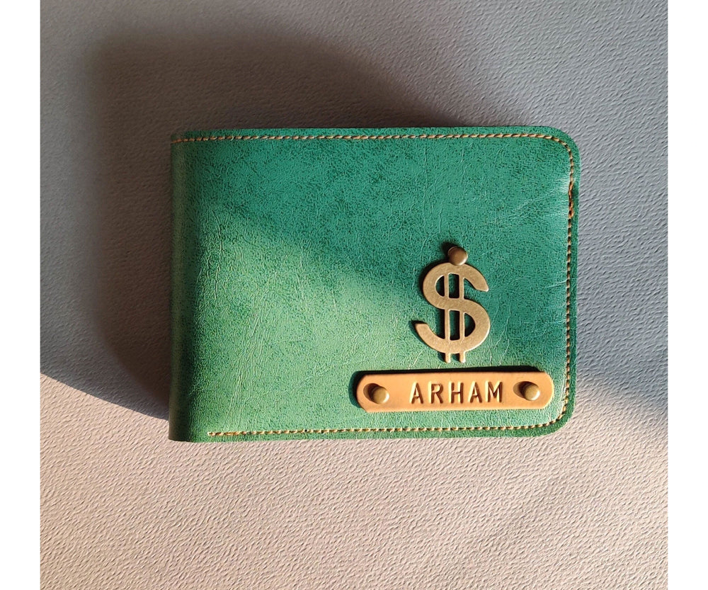Emerald Green Mens Wallet