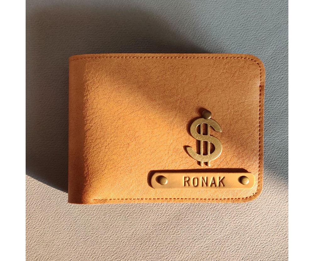 Camel Brown Mens Wallet