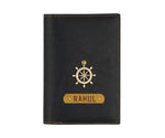 Black Frequent Flyer Passport Cover