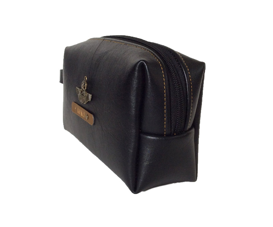 Black Accessories Pouch - The Junket