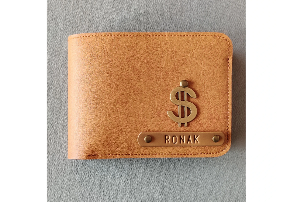 Camel Brown Mens Wallet - The Junket