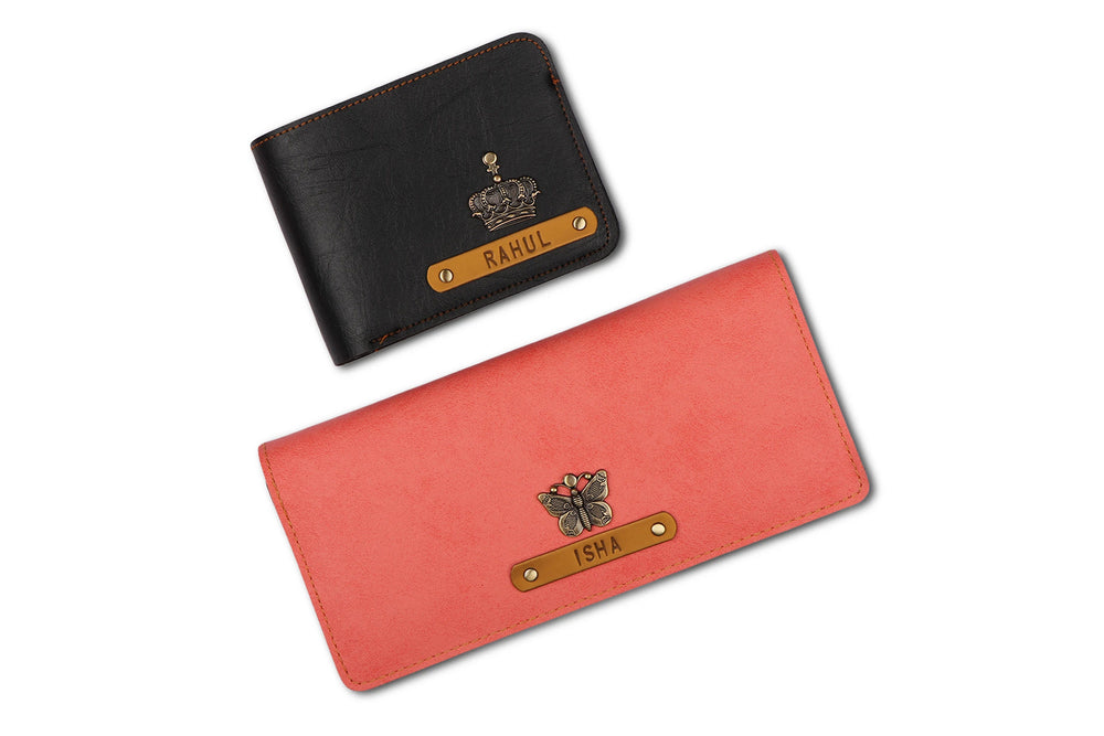 Personalized Couple Wallets