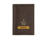 Dark Brown Frequent Flyer Passport Cover