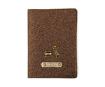 Copper Glitter Passport Cover