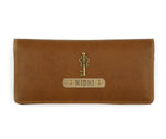 Tan Womens Wallet - The Junket