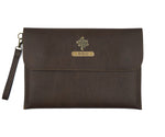 Dark Brown Laptop Sleeve