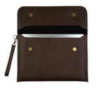 Dark Brown Laptop Sleeve - The Junket