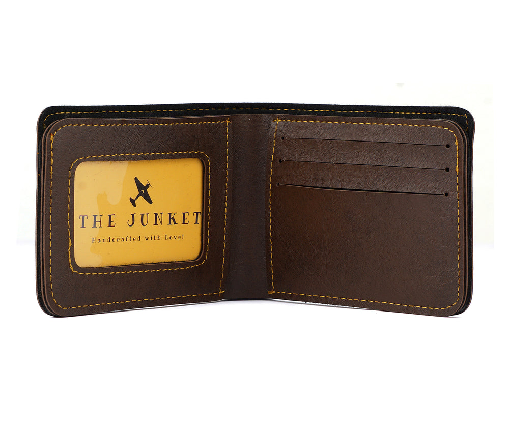 Dark Brown Mens Wallet - The Junket