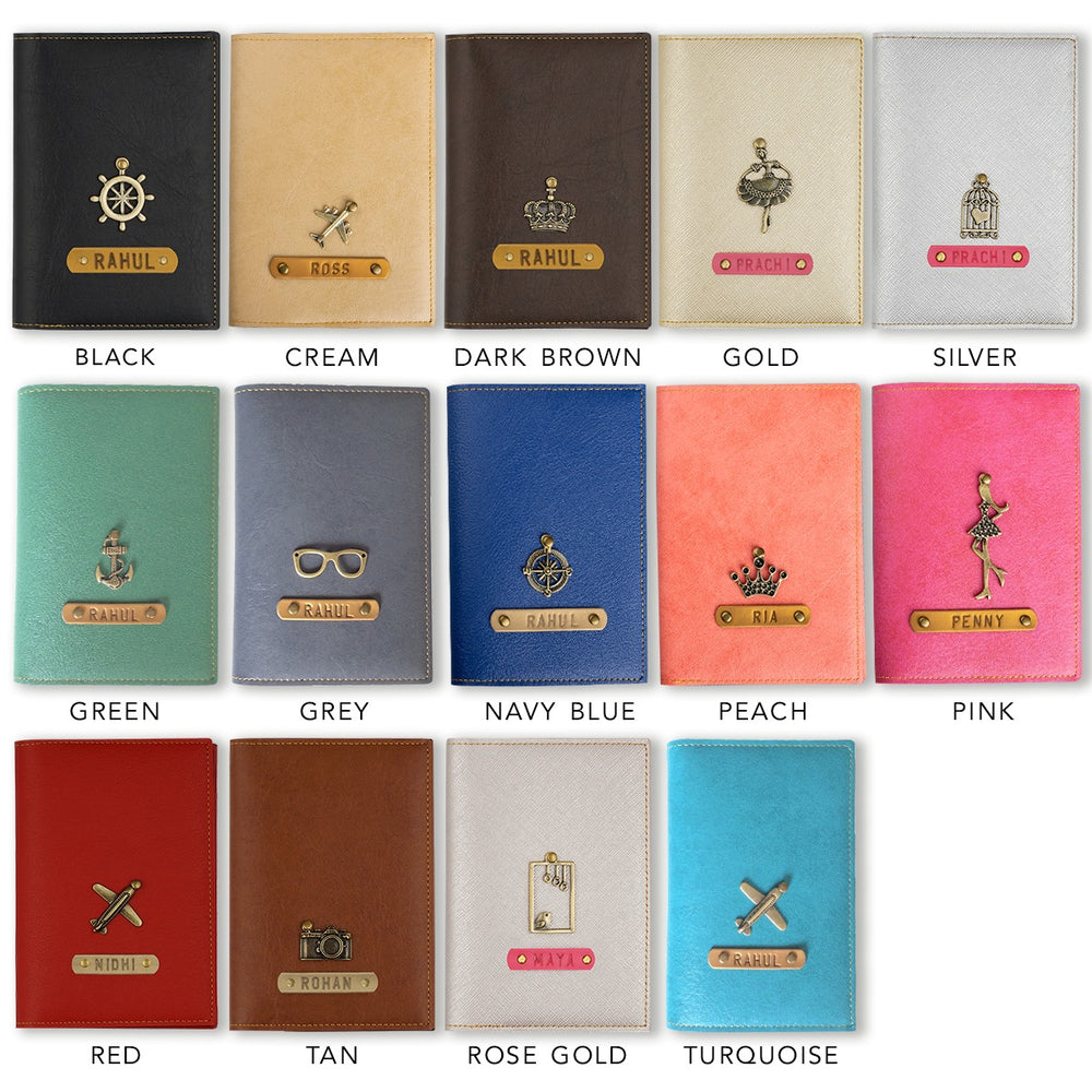 Couple Frequent Passport Covers (Executive Passport Holder)