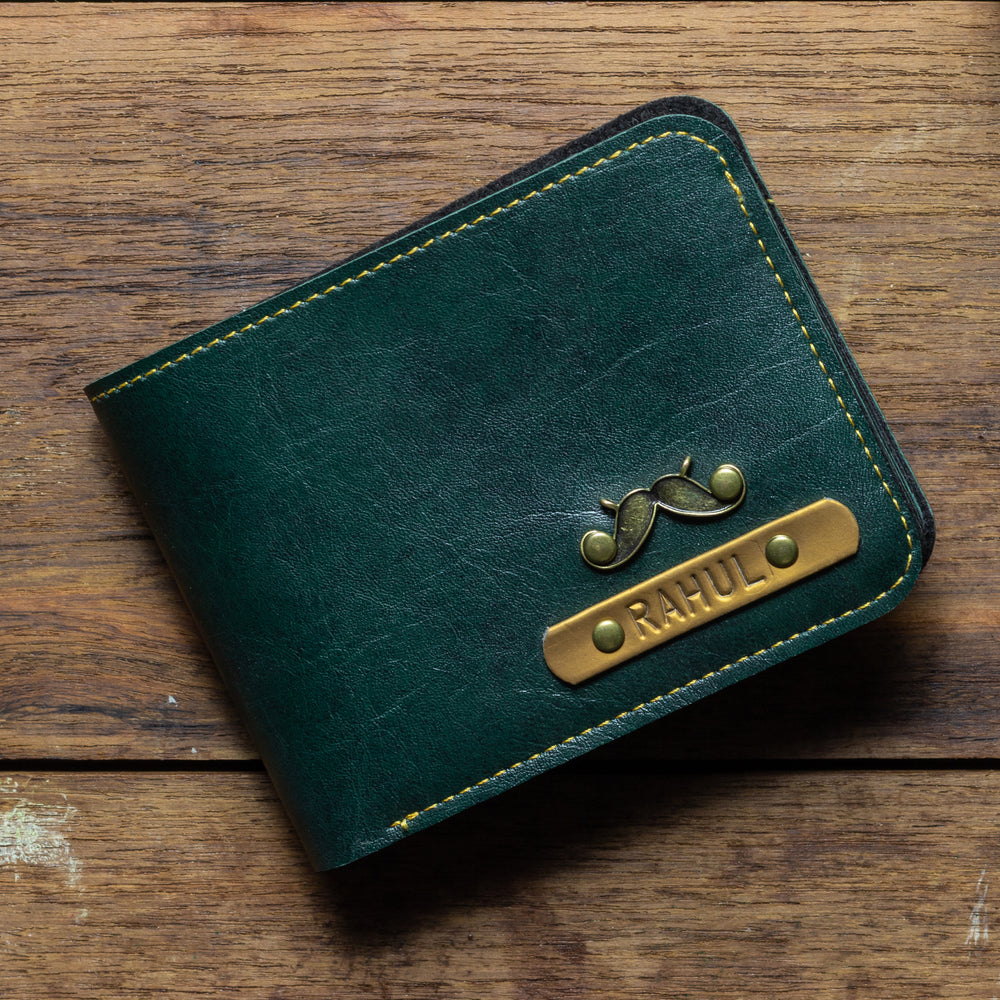 Forest Green Mens Wallet