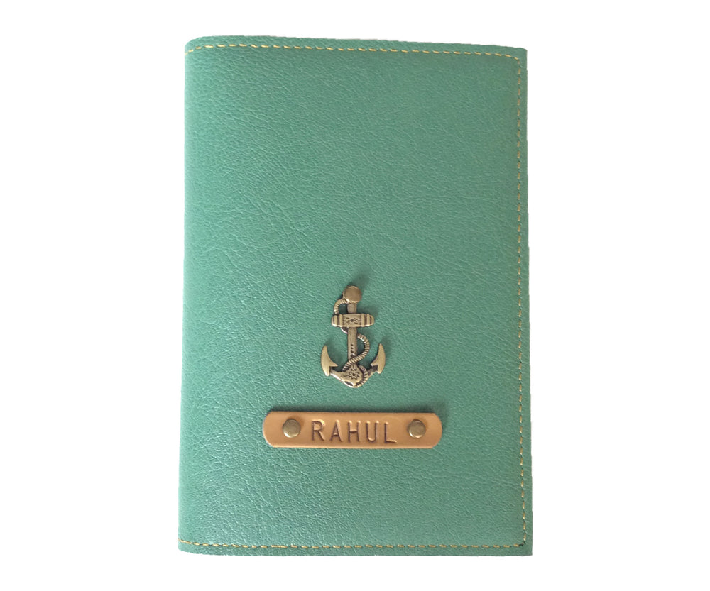 Green Frequent Flyer Passport Cover