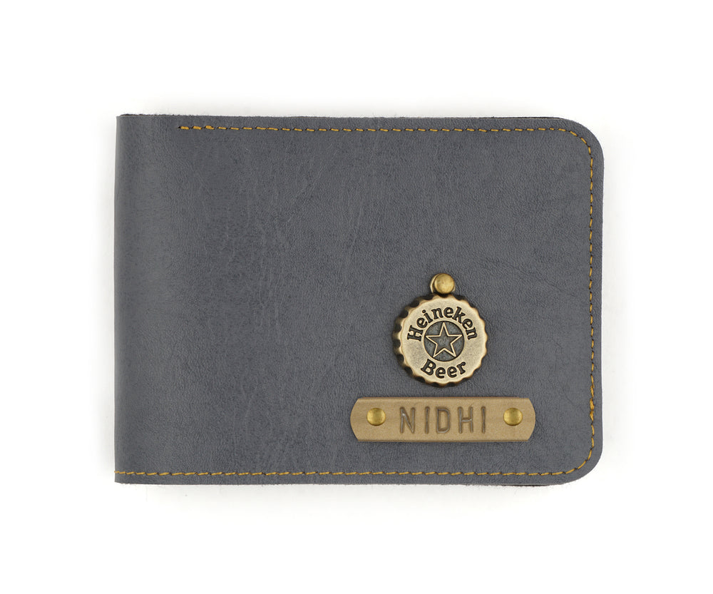 Grey Mens Wallet - The Junket