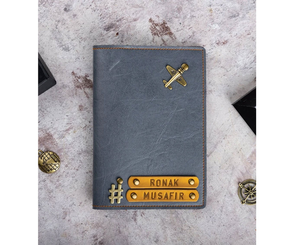 #Hashtag Personalised Passport Cover - The Junket