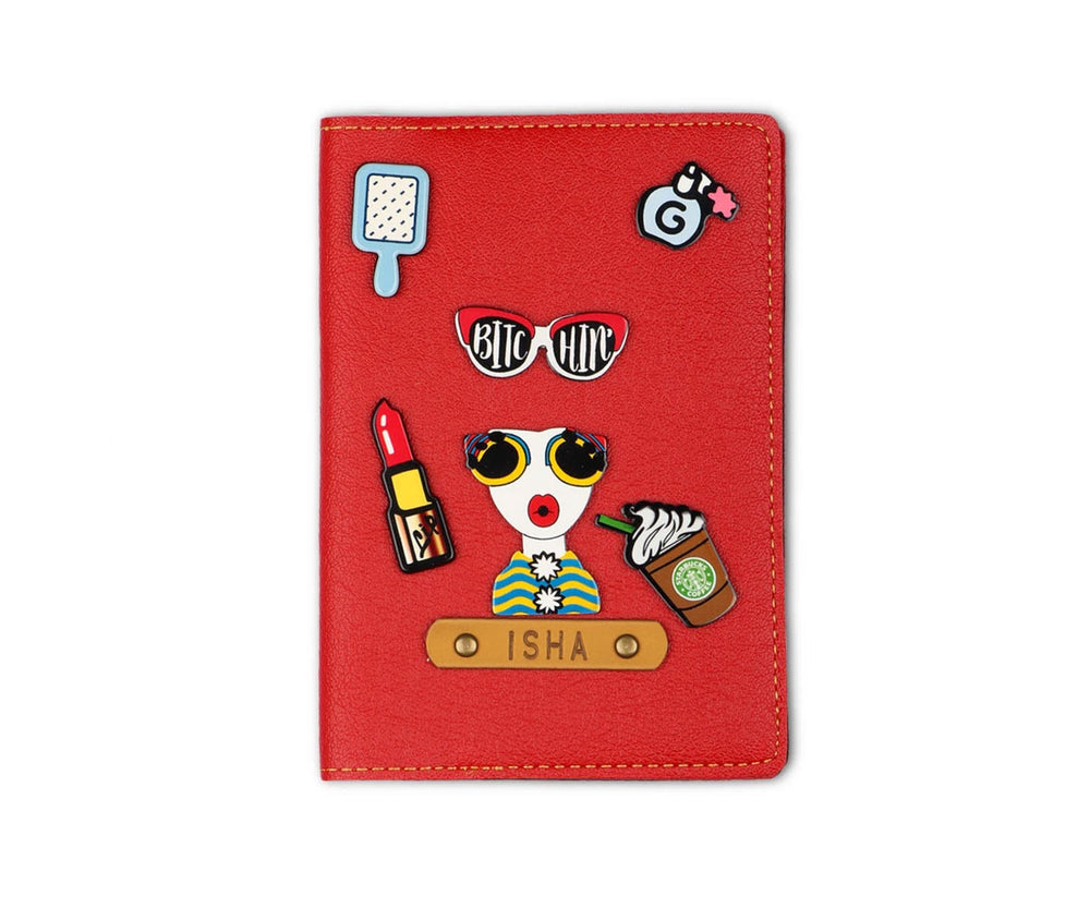 Her - Quirky Passport Cover - The Junket