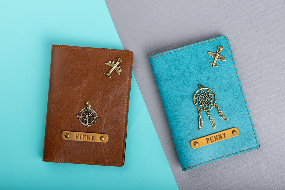 Couple Passport Covers