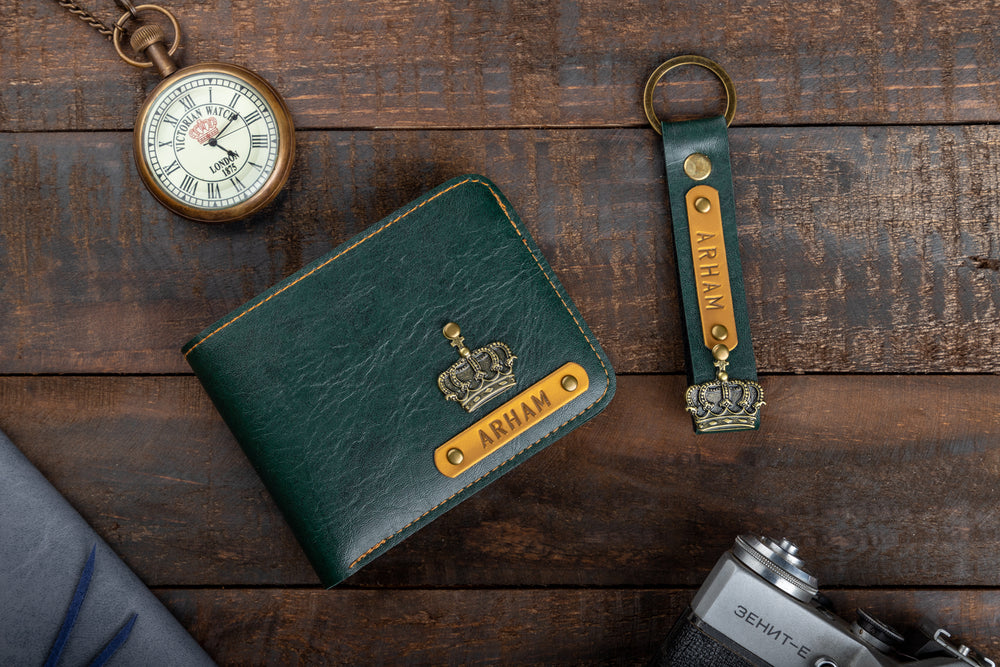 Mens Wallet & Keychain Combo - The Junket