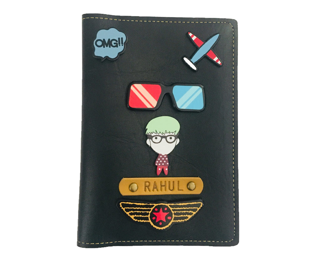 Him - Quirky Passport Cover - The Junket