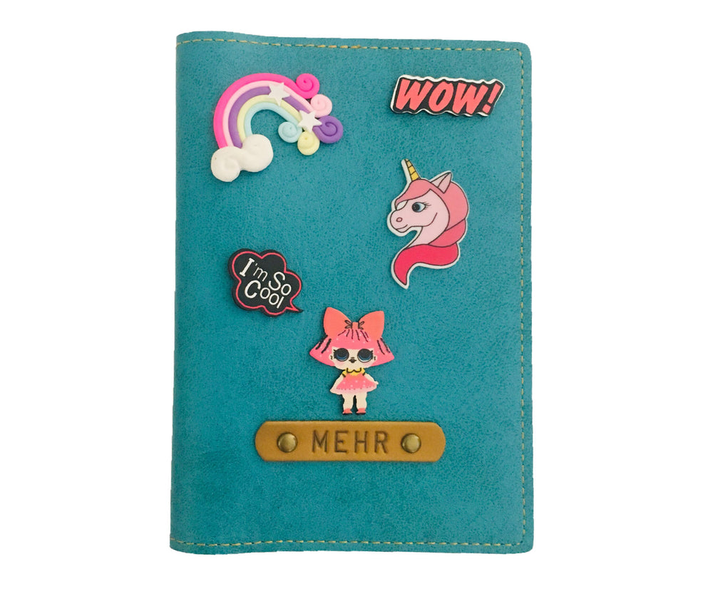 Lil Girl - Quirky Passport Cover - The Junket