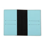 Powder Blue Textured Passport Cover - The Junket